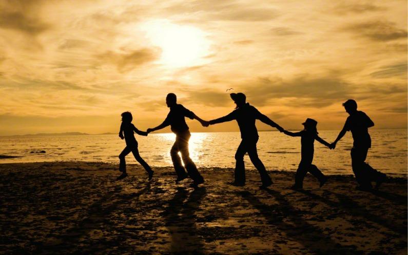 Den Himmel gibt's echt und Familien existieren ewig