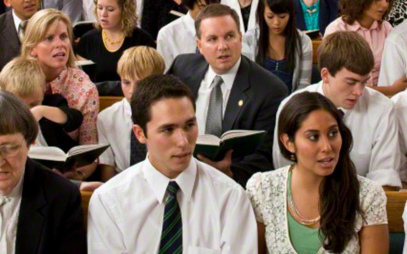 Wie sieht ein Gottesdienst der Mormonen aus?