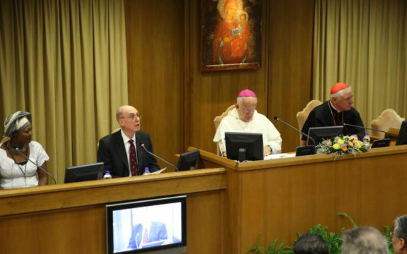 Präsident Eyring im Vatikan