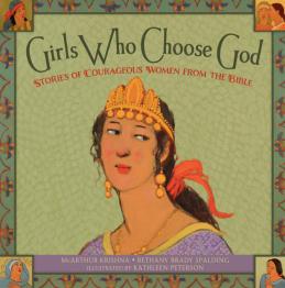 """Nachdem sie ein Leben in Fülle mit Gott erreichte, schrieb McArthur Krishna dieses Buch: """"Girls Who Choose God"""""""""""