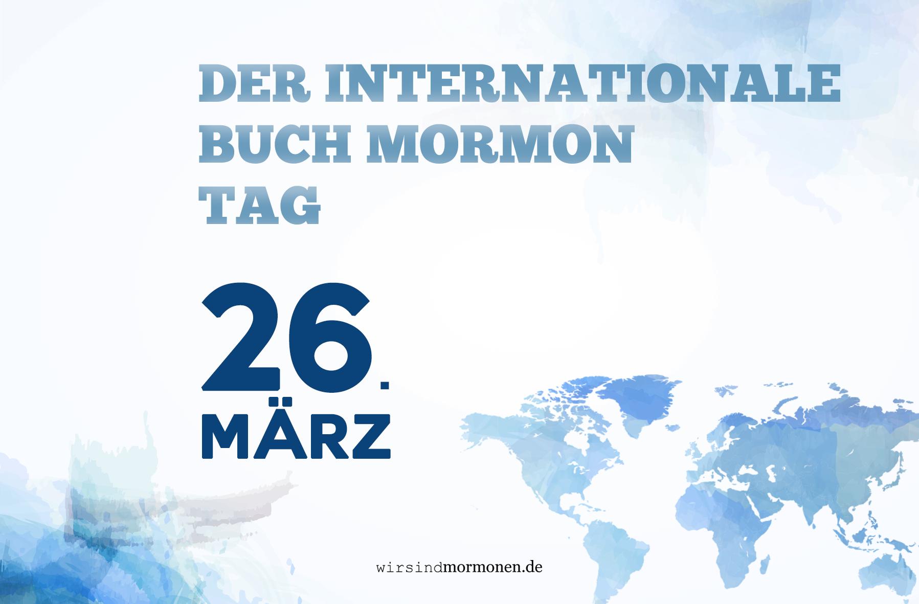 Internationaler Buch-Mormon-Tag: Feiert mit uns am 26. März