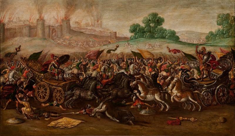 Babylon erobert Jerusalem (von Juan de la Corte)