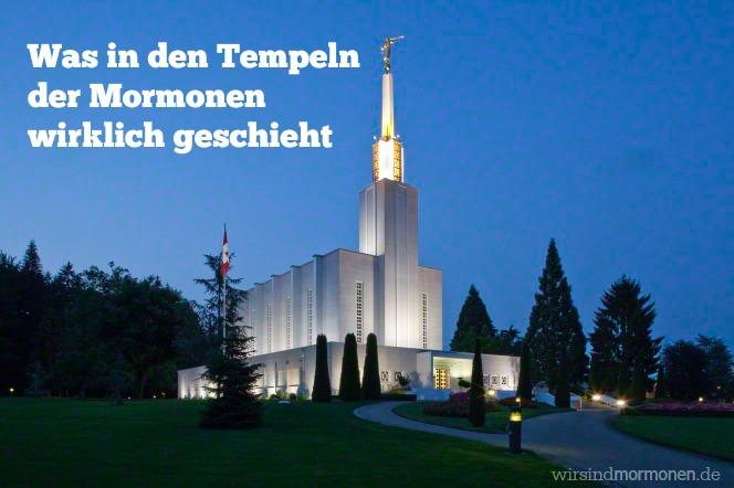 Was in den Tempeln der Mormonen wirklich geschieht
