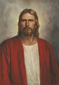 Ein Portrait von Jesus Christus