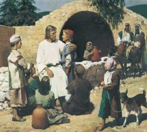 Jesus Christus - Lasset die Kinder zu mir kommen