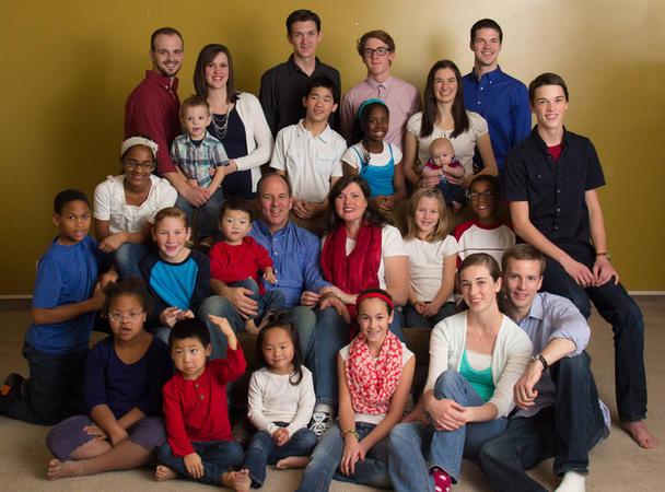 Die Nachbarsfamilie mit den Millionen von Kindern