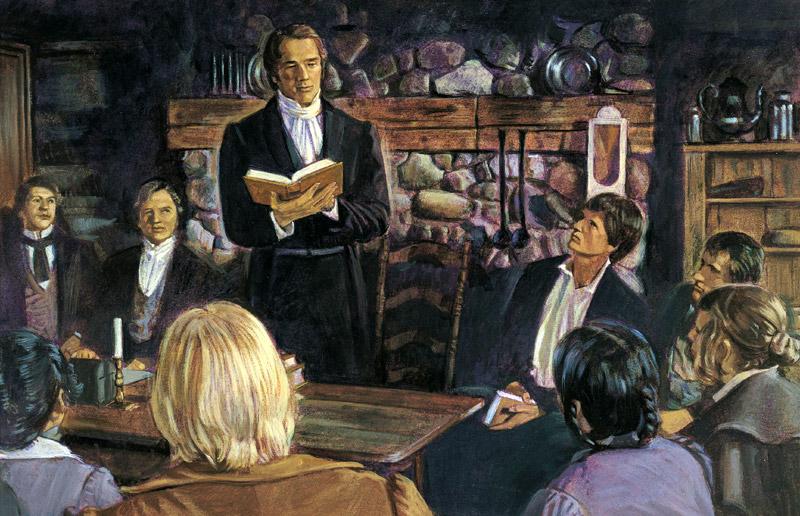 Polygamie und Mormonen: Joseph Smiths minderjährige Braut