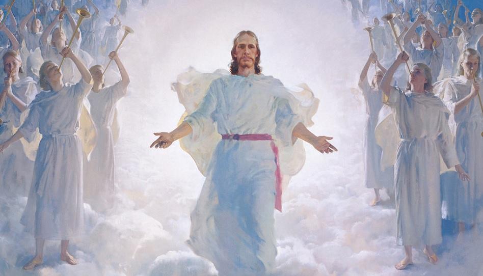 Jesus Christus wird der Welt den Frieden bringen.