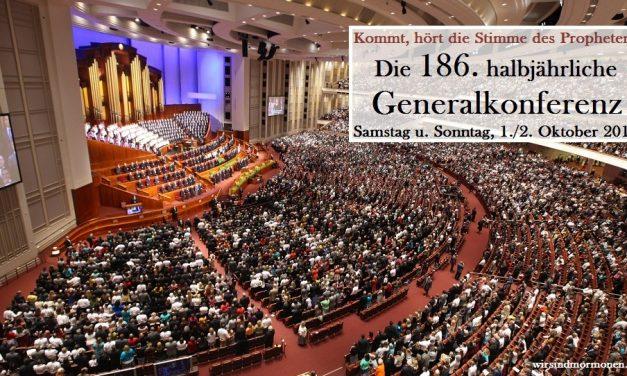 186. halbjährliche Generalkonferenz