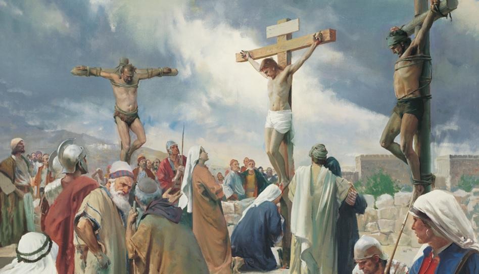 Die Erlösung ist möglich dank des Sühnopfers Jesu Christi