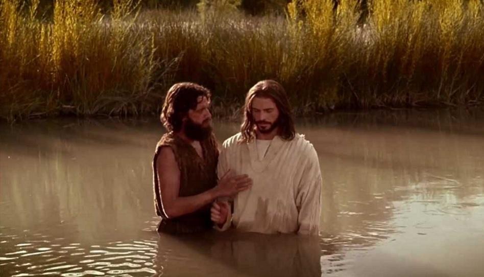 Jesu Taufe durch Johannes