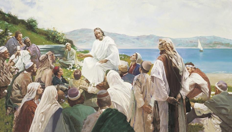 Jesus hat den Menschen Frieden im Herzen gebracht.