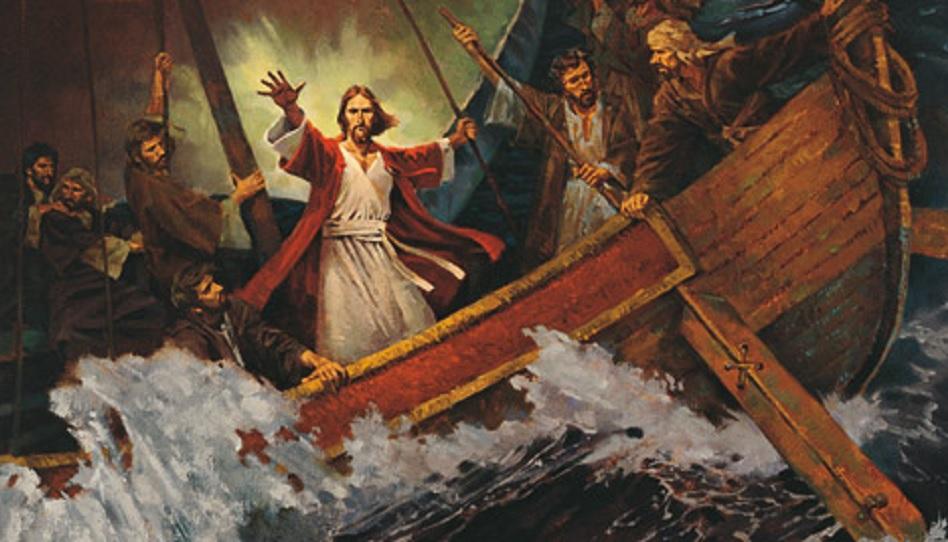 Vertrauen wir darauf, dass Christus auch in unserem Leben den Sturm beruhigen kann.