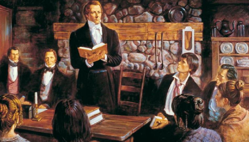 Die Gründung der Kirche Jesu Christi der Heiligen der Letzten Tage datiert auf den 6. April 1830 zurück.