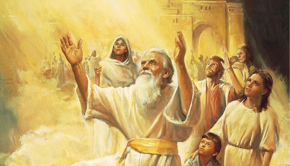 Eine Stadt in den Wolken: die Legende von Zion