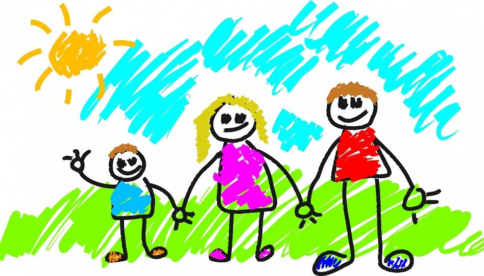 Familie über alles - trotz Alltag.