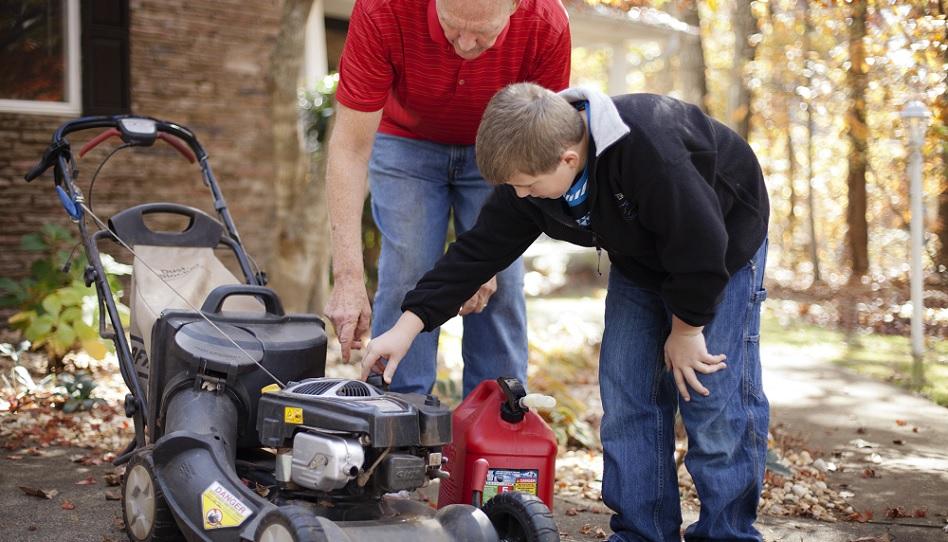Zusammen arbeiten ist wichtig in einer Familie
