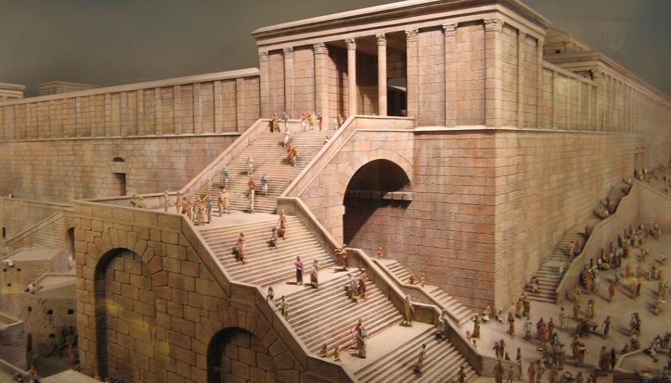 Der jüdische Tempel Jerusalems.