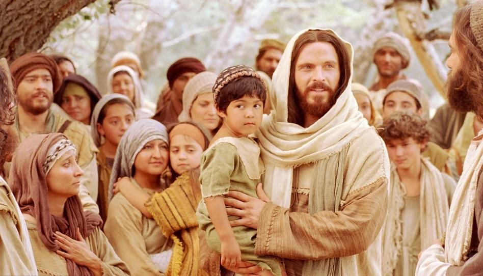 Jesus und die Kinder.