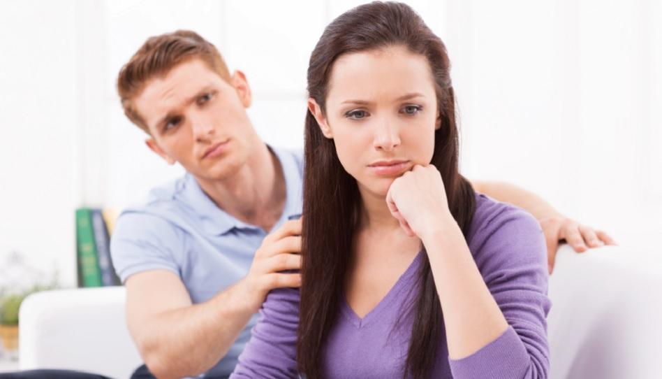 Probleme in der Ehe überwinden.