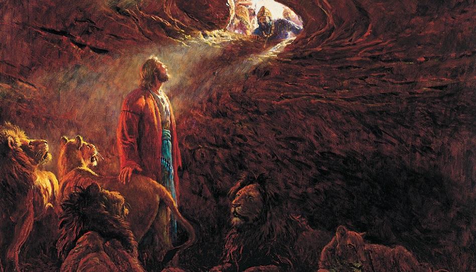 Daniel in der Löwengrube Mormonen