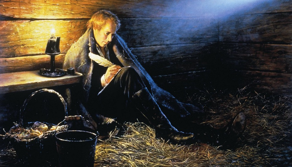 Joseph Smith im Gefängnis zu Liberty.