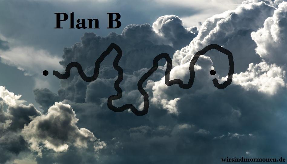 Doch unser Leben sieht am Ende eher aus wie Plan B.