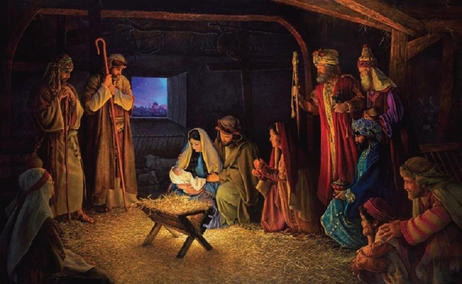 die Geburt des Herrn Jesus Christus stille nacht