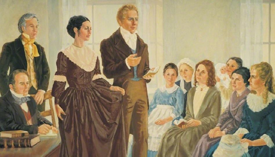 Joseph und Emma FHV Gründung