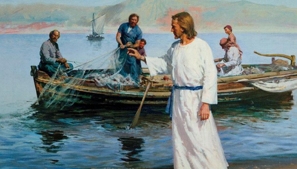 Jesus Menschenfischer