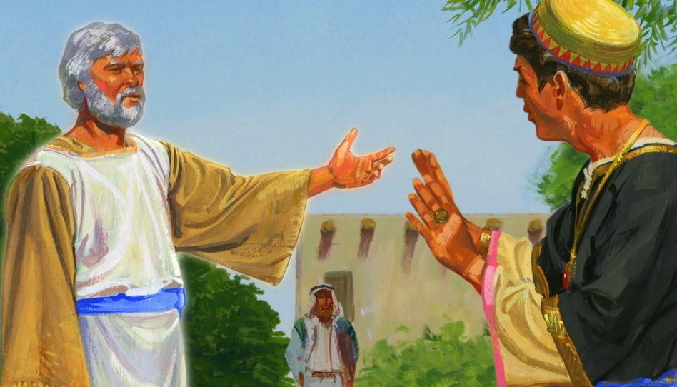 Jakob kämpfte gegen die Verblendung seines Volkes an.