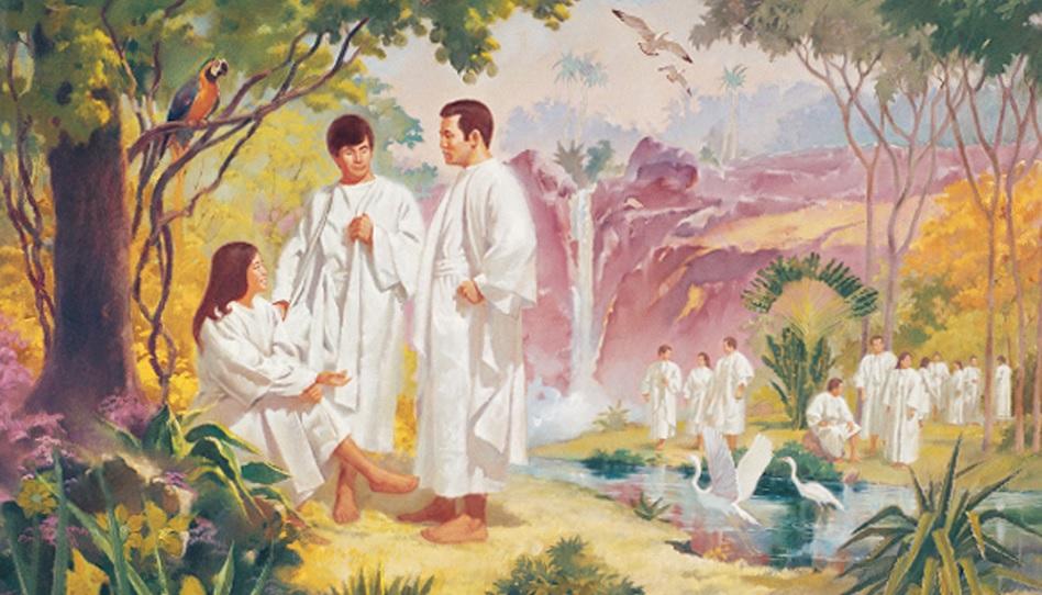 Vor diesem Leben waren wir bei Gott.