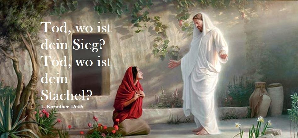 Jesus Ostern