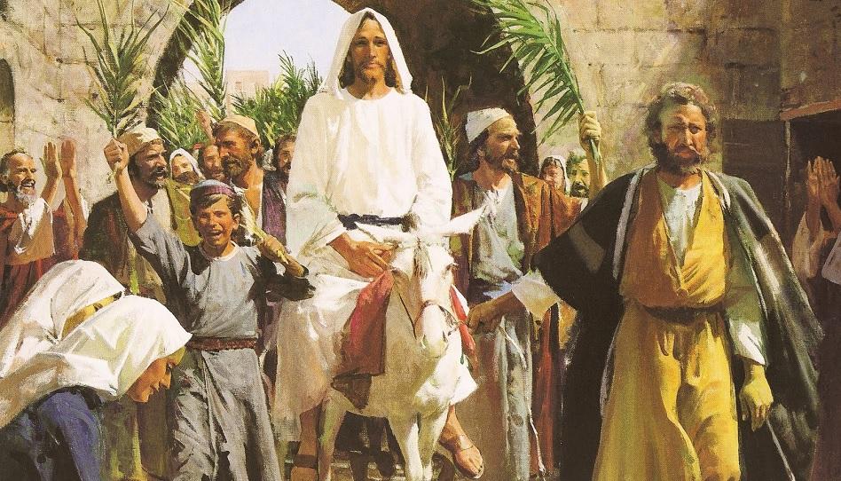 Das einschneidende Erlebnis Jesu am Tempel in Jerusalem.