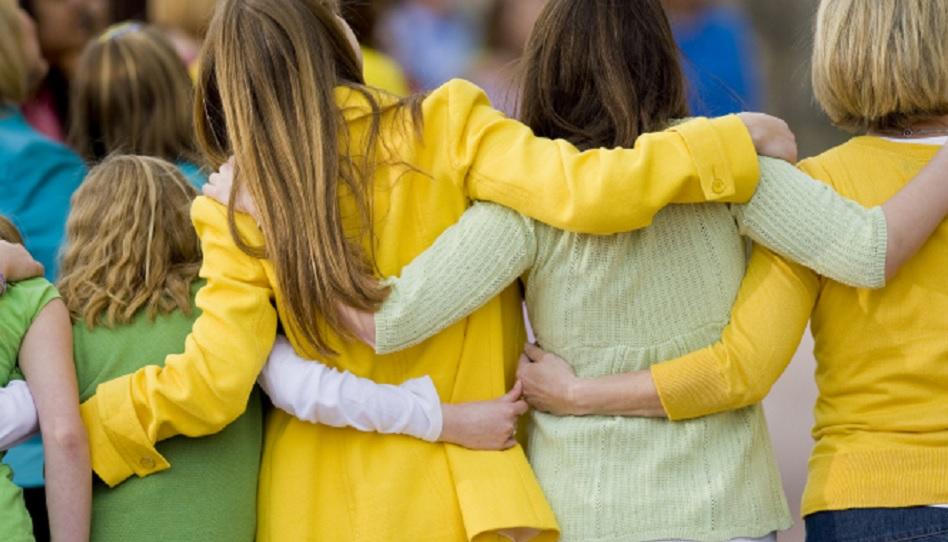 Wir müssen alle zusammen halten und aufeinander achten.