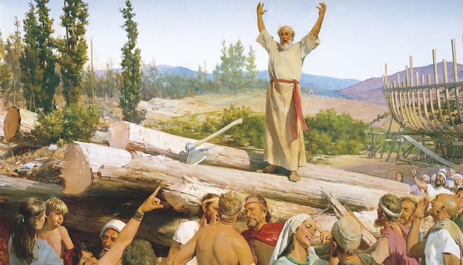 Noah steht für das Wort Gottes ein.