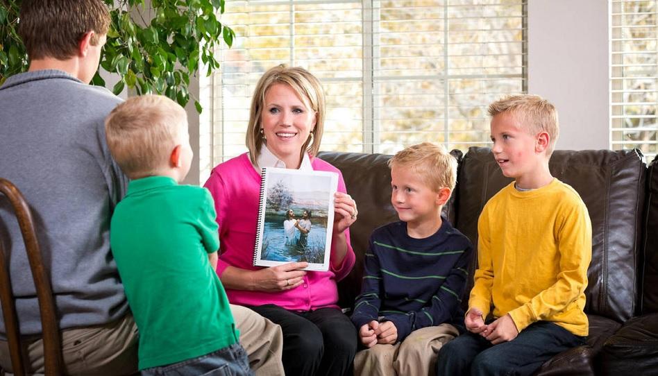 Starke Familien bauen auf das Evangelium.