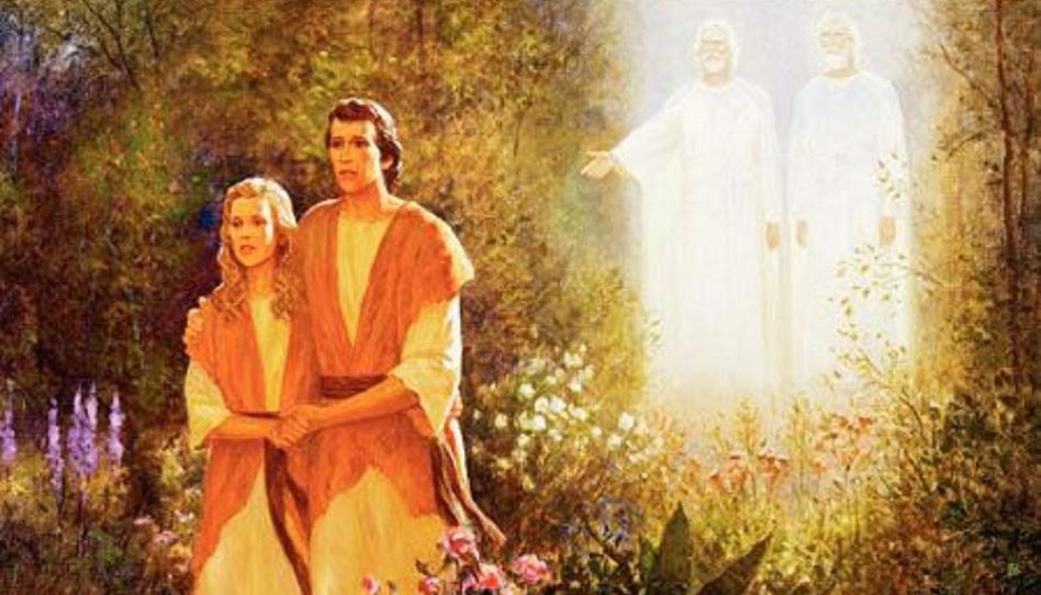 Adam und Eva wurden durch Halblügen in die Irre geführt!