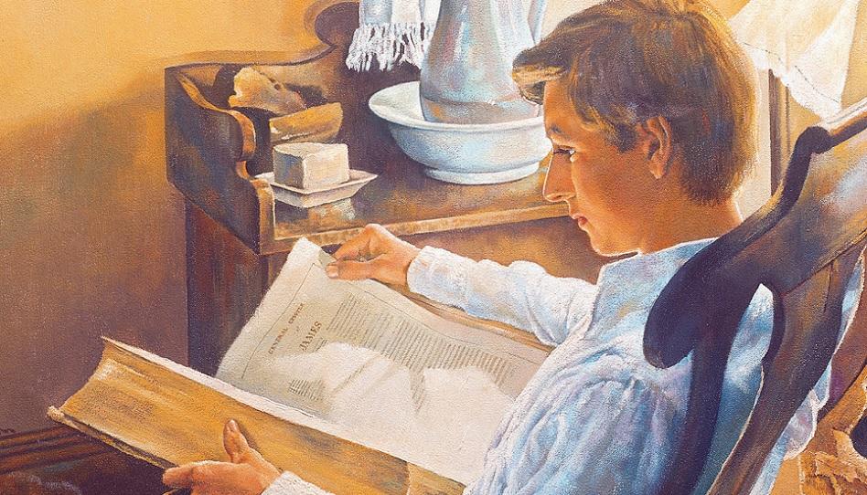 Joseph war ein fleißiger Schüler der Bibel.