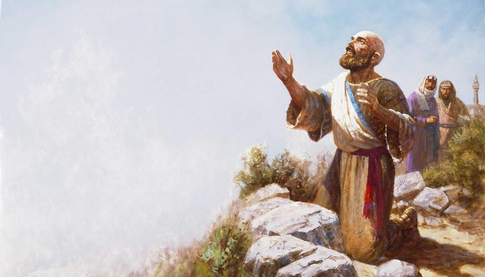 Ijob oder Hiob wurde durch sein Leiden gestärkt.