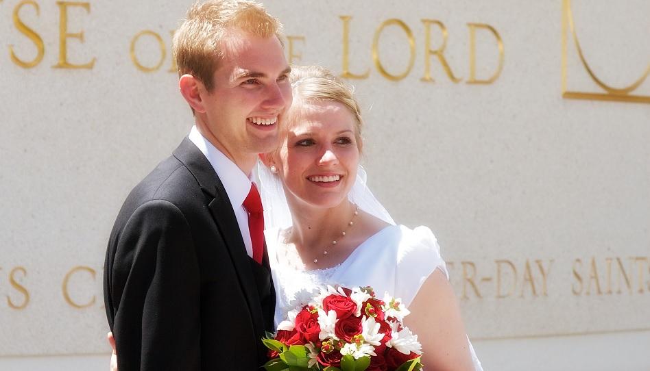 Der Ehebund ist für die Mormonen heilig.