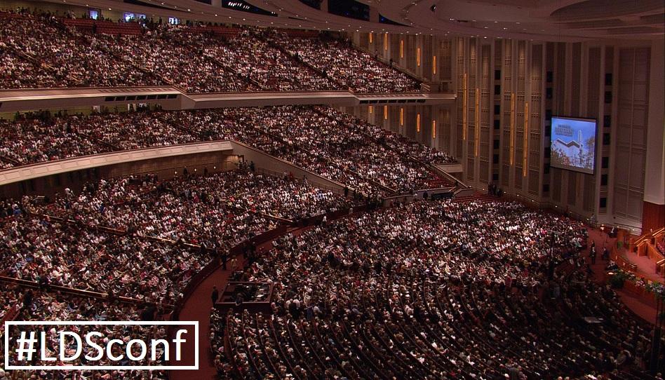 #ldsconf - Die Generalkonferenz im Internet teilen.