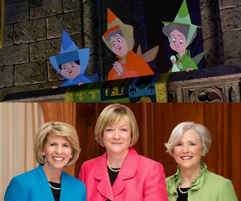 Disney Junge Damen Präsidentschaft