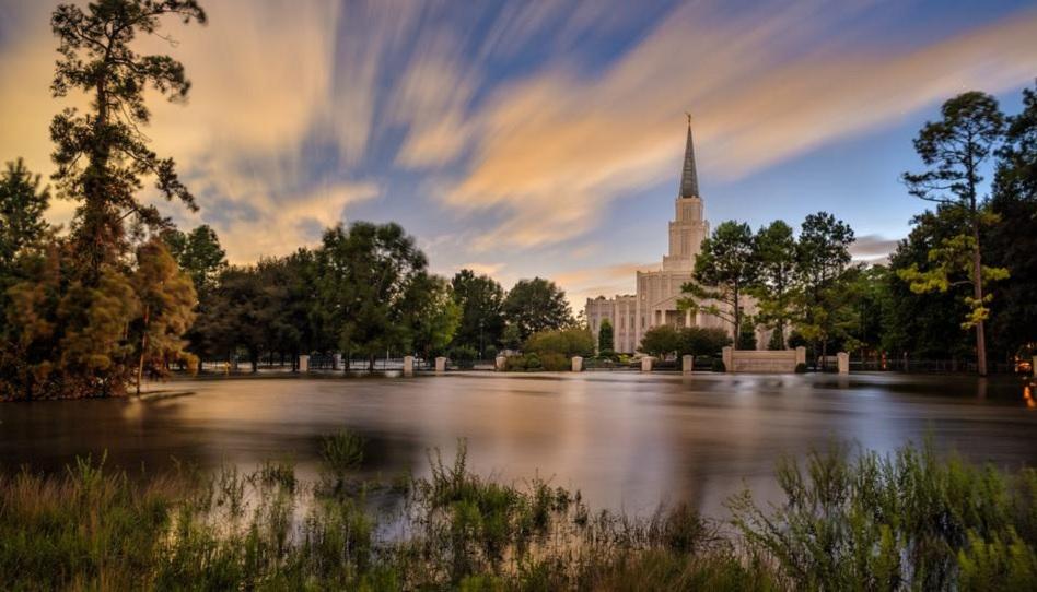 UPDATE: Die Jahrhundertflut erreicht auch den Houston Texas Tempel