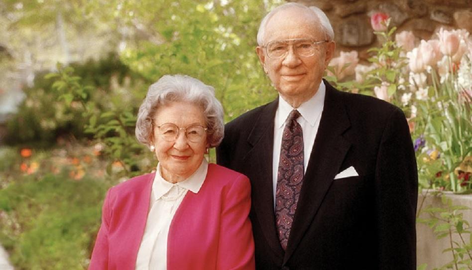 Marjorie Pay Hinckley und Gordon B. Hinckley