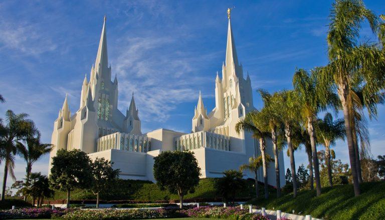 Priestertum Symbolik im San Diego Tempel