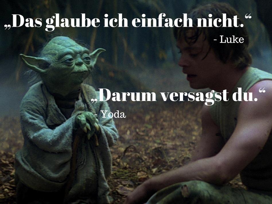 Star Wars Generalkonferenz Zitat Yoda