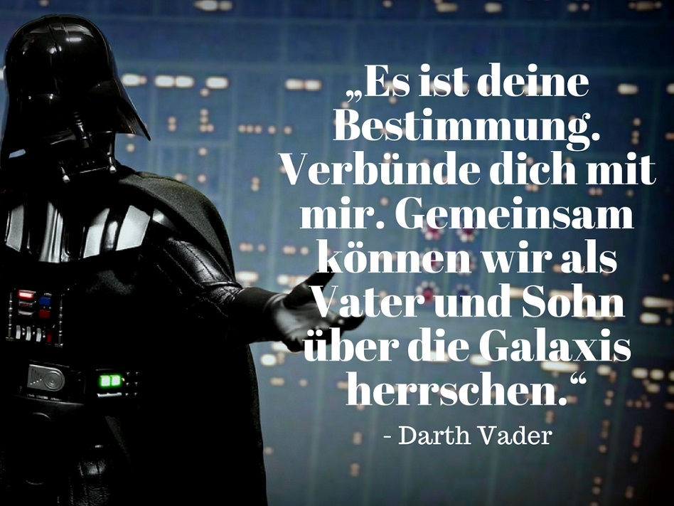 Darth Vader Zitat