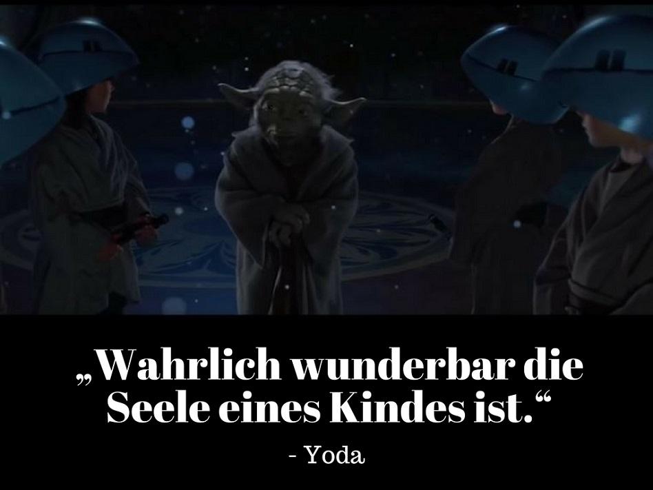 Yoda Seele des Kindes