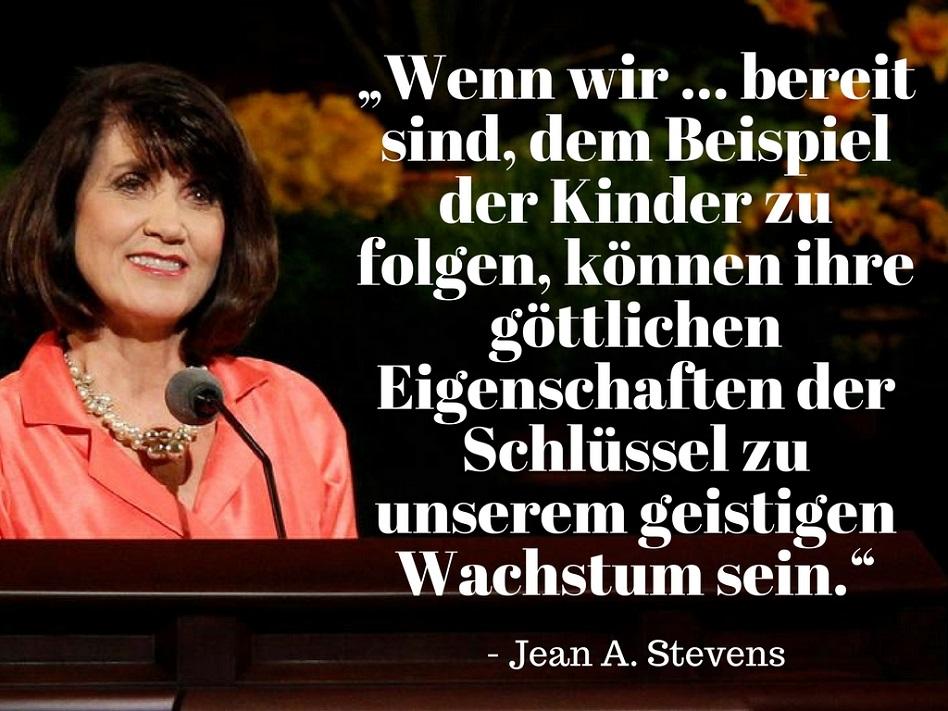 Jean A. Stevens Kinder Generalkonferenz